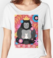 Koko der Gorilla Baggyfit T-Shirt