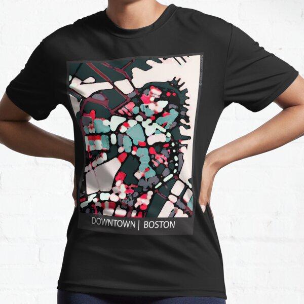 Boston Harbor, MA Active T-Shirt