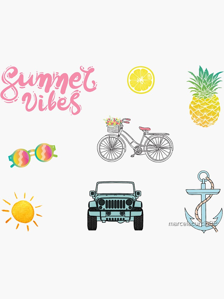 Summer Aesthetic Pack by marcelacurcio22