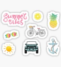 Yellow Aesthetic Stickers Redbubble