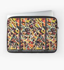 ABSTRACT MAP OF SOMERVILLE MA Laptop Sleeve