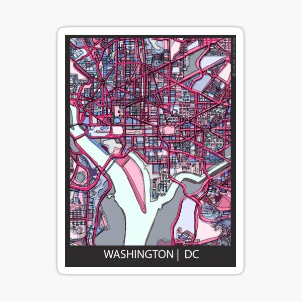 Washington, DC Sticker