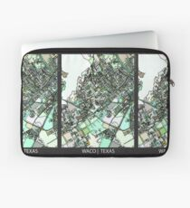 ABSTRACT MAP OF WACO, TX Laptop Sleeve