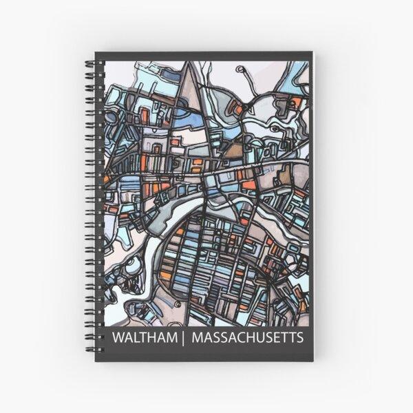 Waltham, MA Spiral Notebook