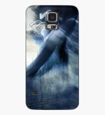 blue rush hour melodrama Case/Skin for Samsung Galaxy