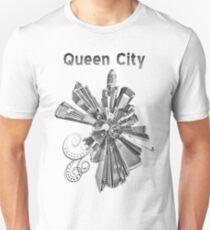 Charlotte, black and white Unisex T-Shirt