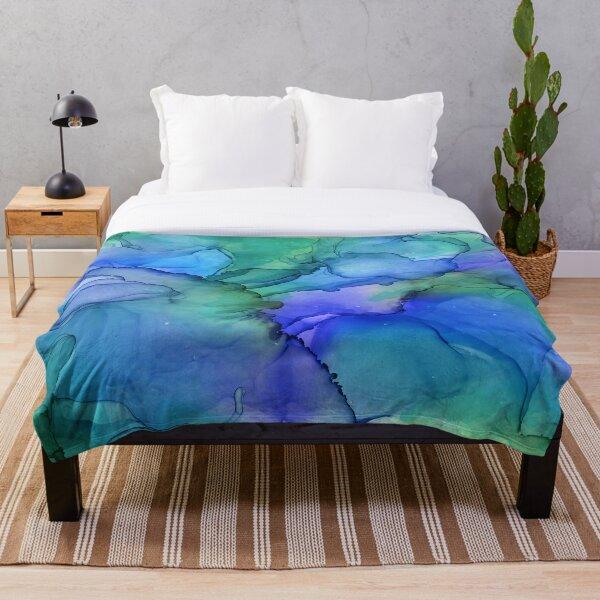 Blue Lagoon Throw Blanket