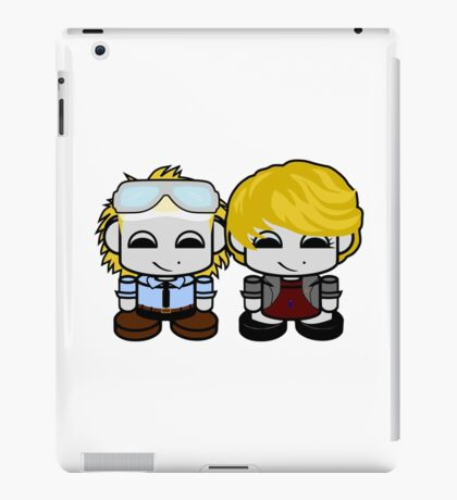 HERO'BOT: Science Teachers/Coach Fridolf & Rae Ole  iPad Case/Skin