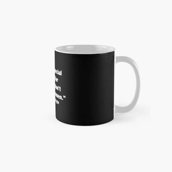 Madeleine Albright Special Place in Hell (white font) Classic Mug