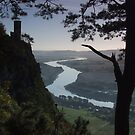 Kinnoull Hill in Perth, Scotland by Steve Hammond