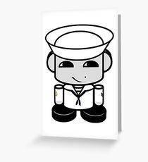 HERO'BOT Sailor Li Yi Greeting Card