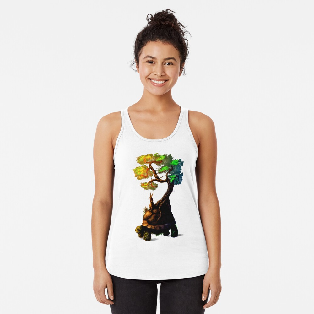 Tortoise and the Hare Racerback Tank Top