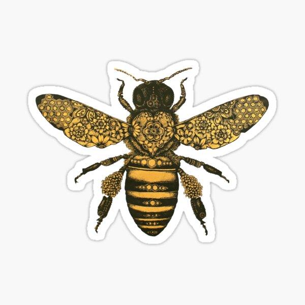 Bee Design Sticker Sticker