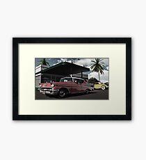Ratso's Garage Framed Print