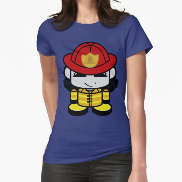 "HERO'BOT Firefighter Molly ""Leven"" Williams Fitted T-Shirt"