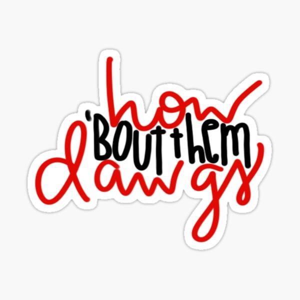 UGA Dawgs  Sticker