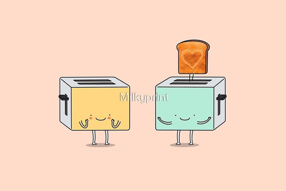 «Yo te hago un pan» de Milkyprint