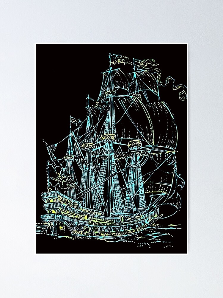 Alternate view of Ship Poster