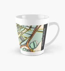 ABSTRACT MAP OF BOSTON SOUTH END Tall Mug
