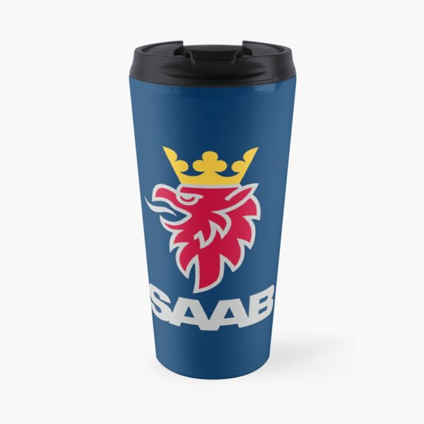 Saab logo products Travel Mug