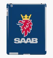 Saab logo products iPad Case/Skin