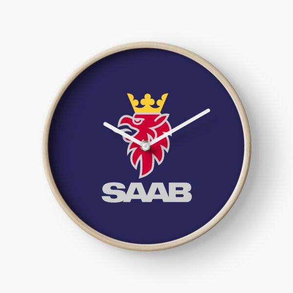 Saab logo products Clock