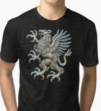 The mythical creature Griffin Tri-blend T-Shirt