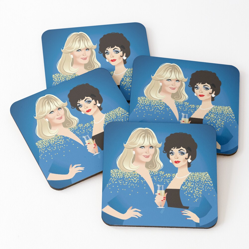 Frenemies Coasters (Set of 4)