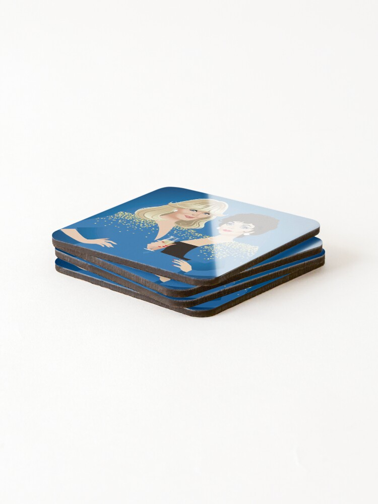 Alternate view of Frenemies Coasters (Set of 4)