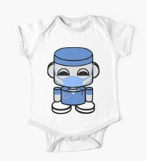 HERO'BOT Dr. Ian Hippotep Short Sleeve Baby One-Piece