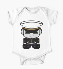 HERO'BOT Mariner Xander Lion Short Sleeve Baby One-Piece