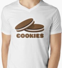 Cookies V-Neck T-Shirt