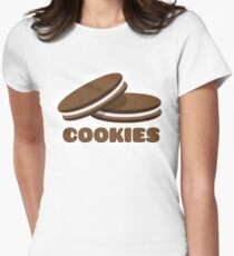 Cookies Fitted T-Shirt
