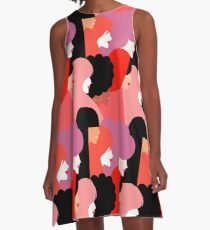 Together we persist - Girl Power #girlpower A-Line Dress