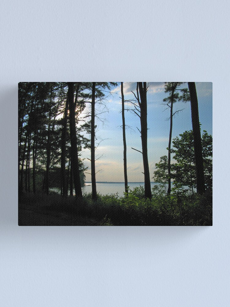 Alternate view of Quiet Afternoon on Rend Lake Canvas Print