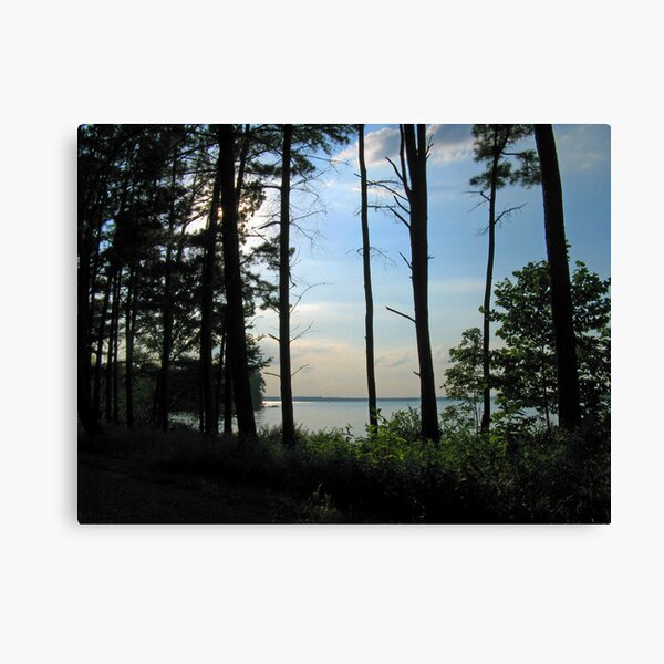 Quiet Afternoon on Rend Lake Canvas Print