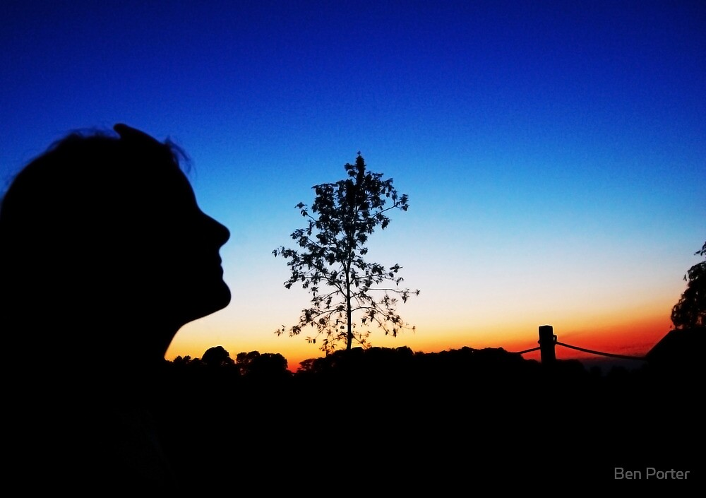 Sunset Silhouette by Ben Porter