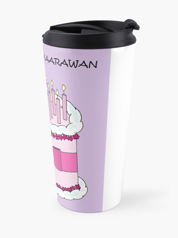 Filipino Happy Birthday Maligayang Kaarawan Travel Mug By Katetaylor Redbubble