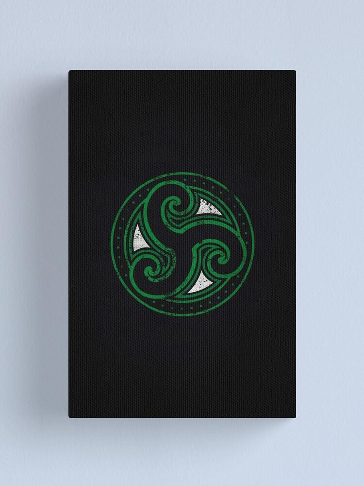 Alternate view of Morthal Logo · Distressed Canvas Print