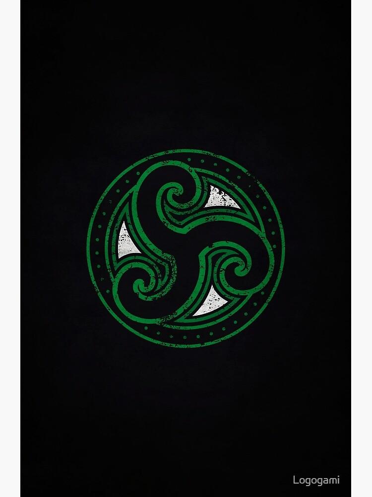 Morthal Logo · Distressed by Logogami