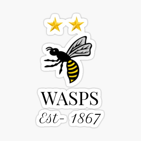 Wasps Rugby Stickers Redbubble