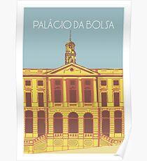 Palácio da Bolsa Poster