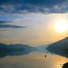 Kalamalka Sunset by Tiffany Vest
