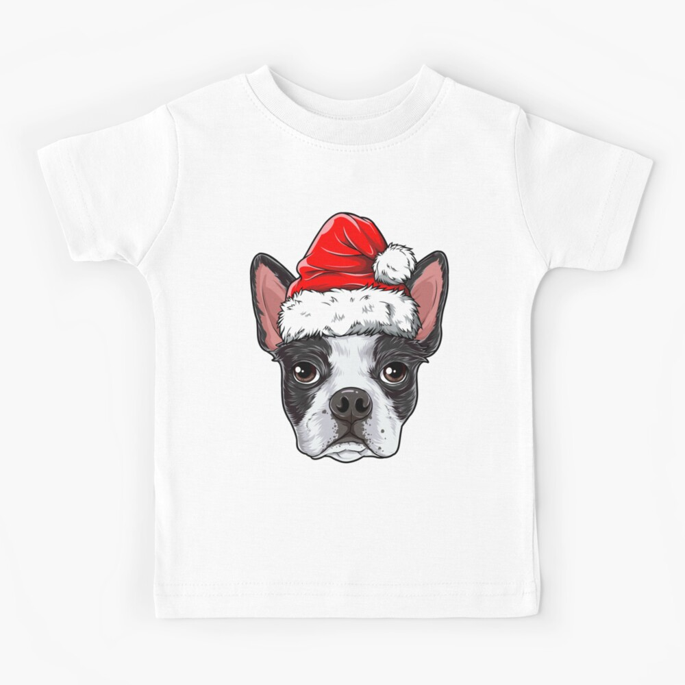 SDHEIJKY Boston Terrier Dog Playing Guitar Toddler Baby Girl Boy Round Neck Short Sleeved T-Shirt Tops Tee Clothes