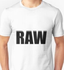 black raw T-Shirt