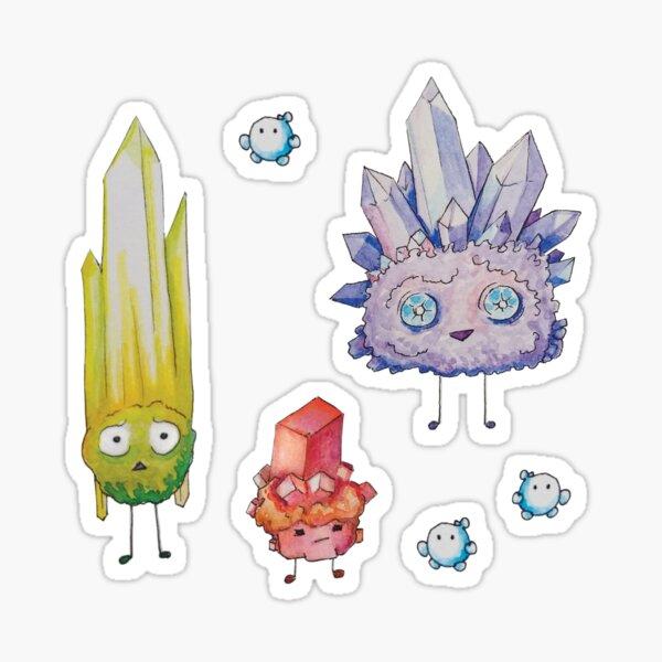 Crystal Rock Creatures - Sticker Pack Sticker