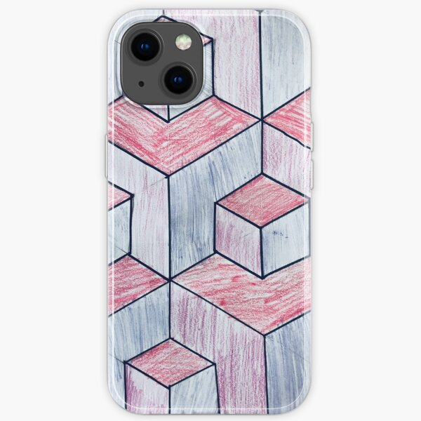 Hip to Be Square - Op Art iPhone Soft Case