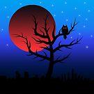 Red moon by Sinmara12