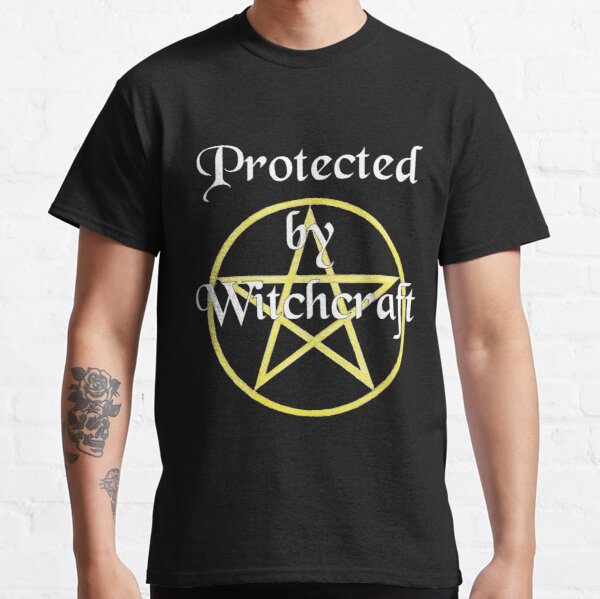 Protected by Witchcraft - dark background Classic T-Shirt