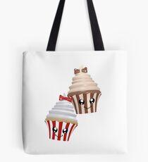 Cupcakes im Kawaii Stil Tasche